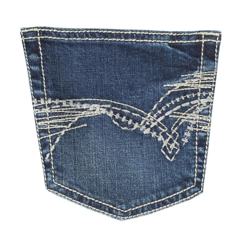 Pantalon Wrangler Slim Fit 20x El Jaripeo